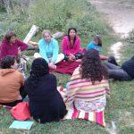 Meditación al aire libre 3